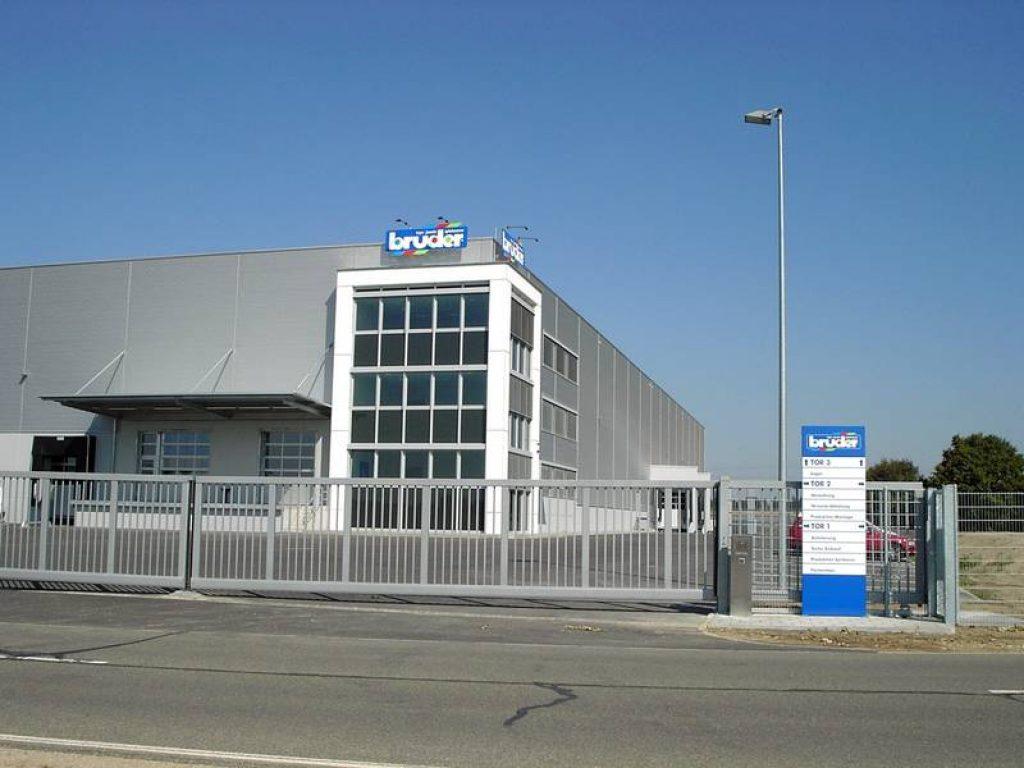 Здание логистики (6000 кв.м.), строительство завершенов 2003 году.